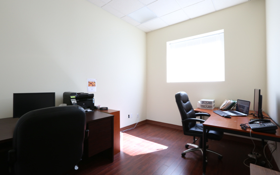 fully furnished North York office space